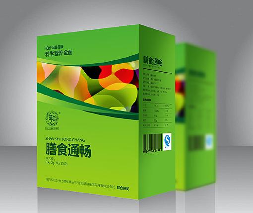 洛阳华以生物保健品系列包装设计