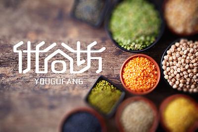优谷坊食品品牌LOGO设计